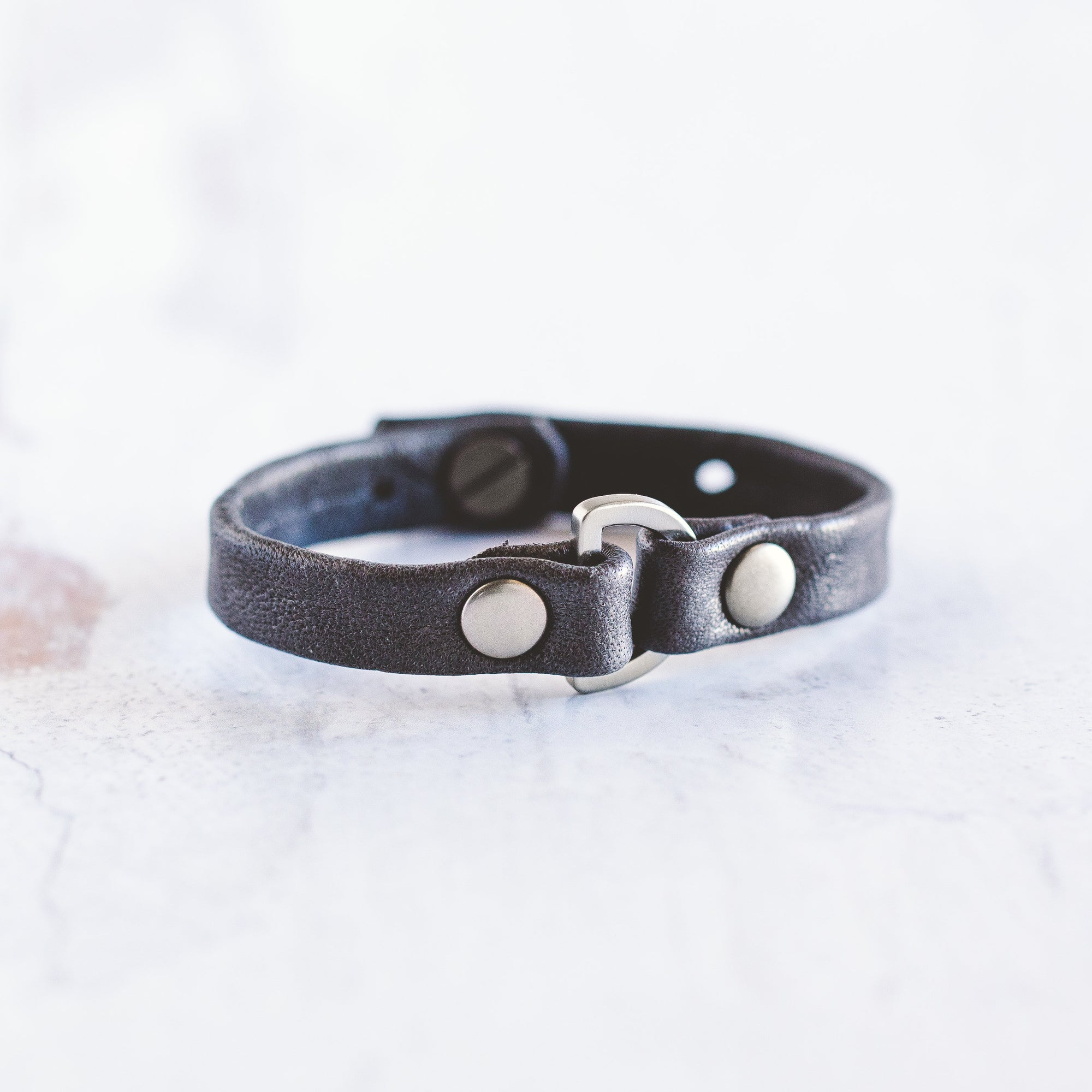 Do Good Bracelet - Brushed Silver