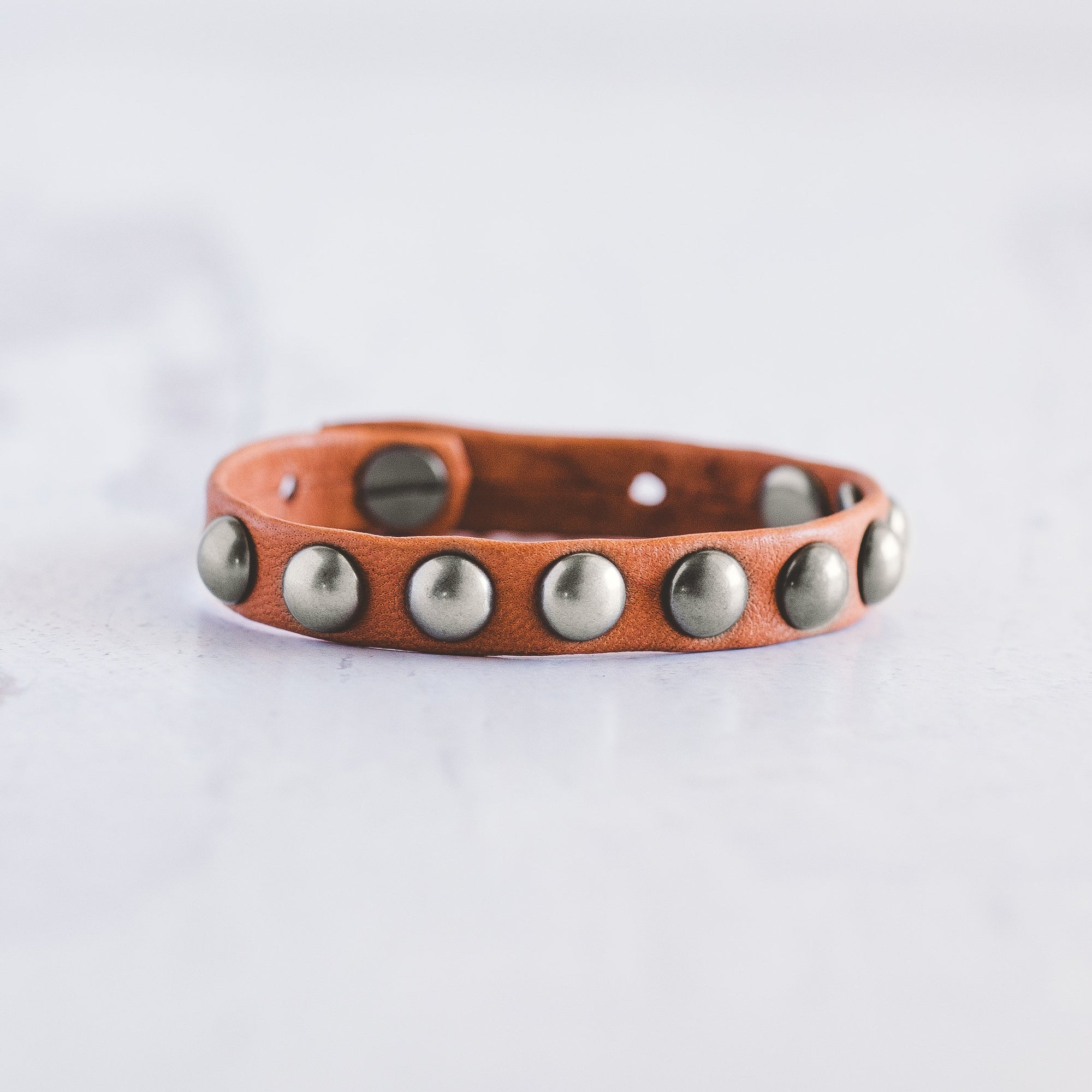 Dotty Bracelet  - Brushed Silver