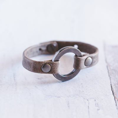 Grounding Bracelet - Brushed Silver