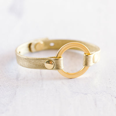 Grounding Bracelet - Gold