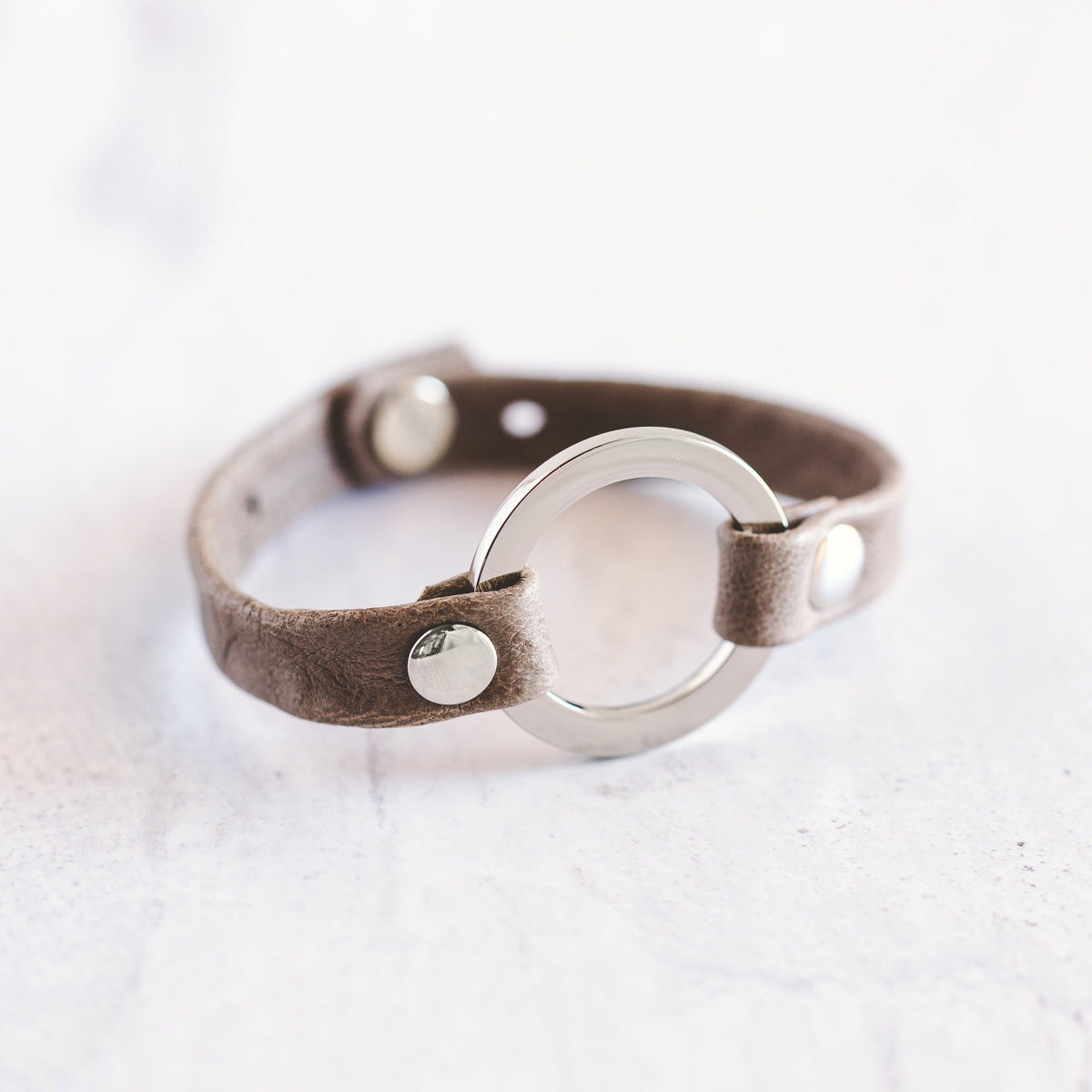 Grounding Bracelet - Shiny Silver