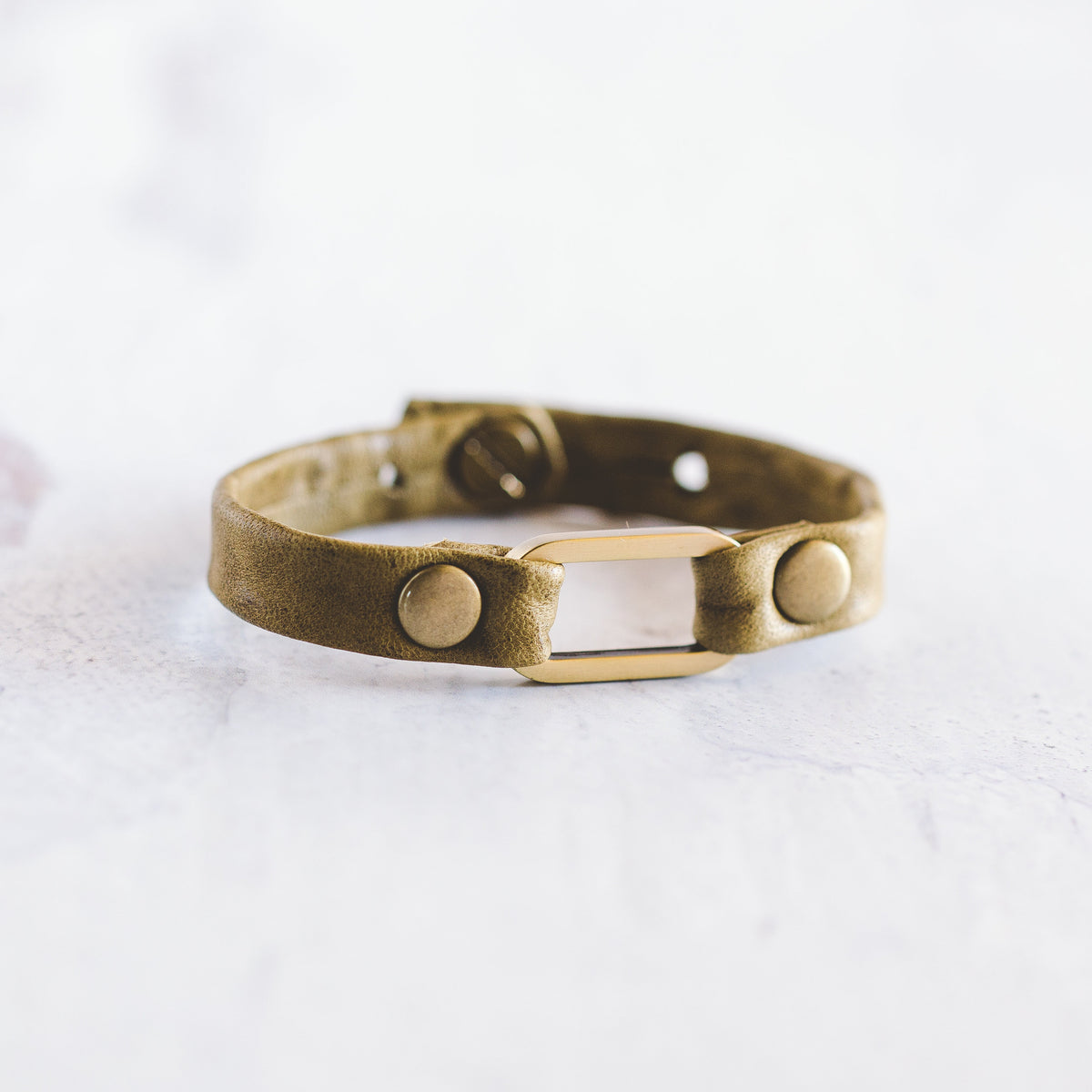 Mesa Bracelet - Antique Brass