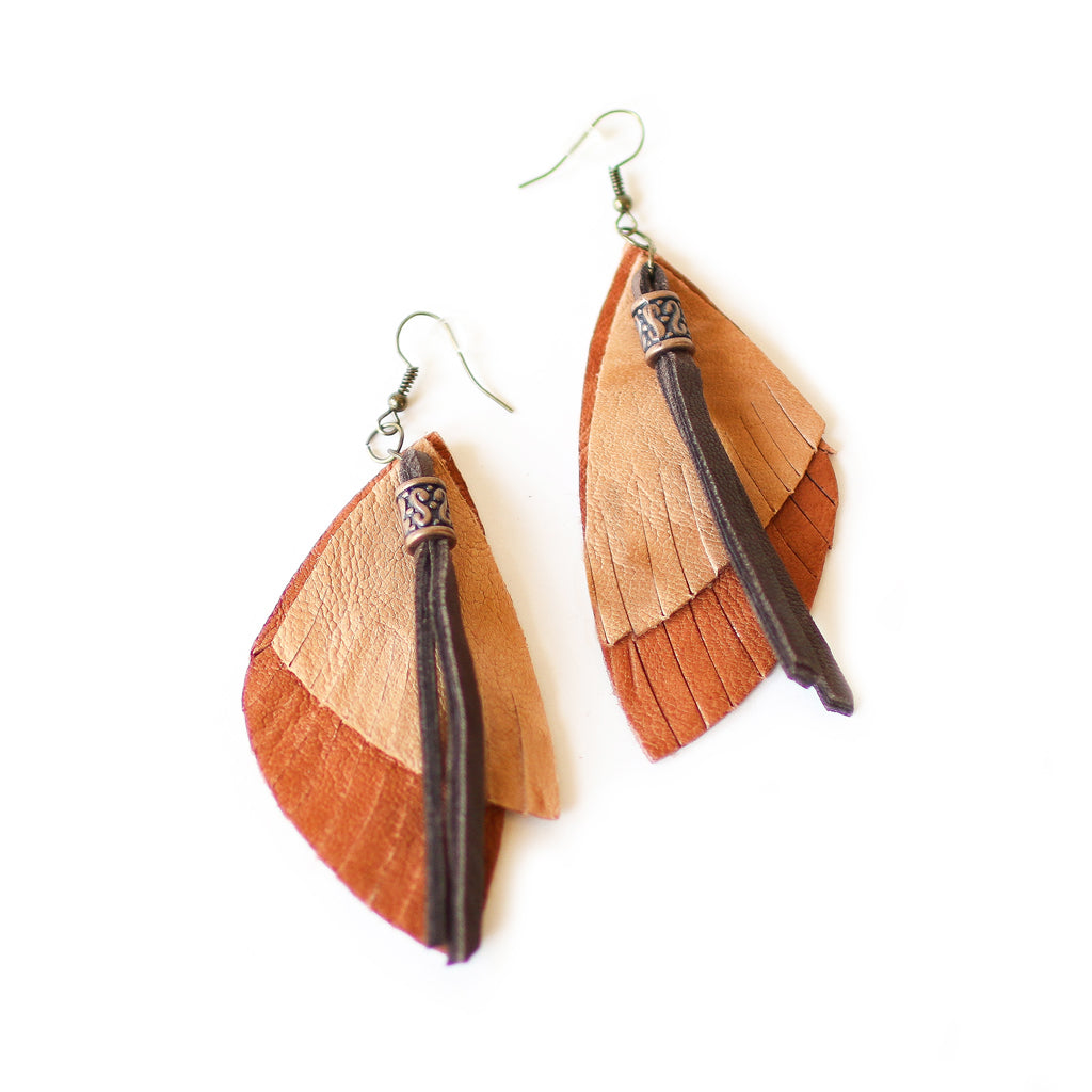 Sand Native Earrings - Style Pack