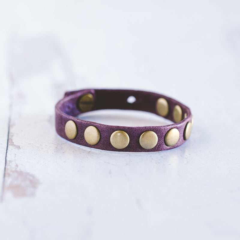 Tribe Bracelet - Antique Brass
