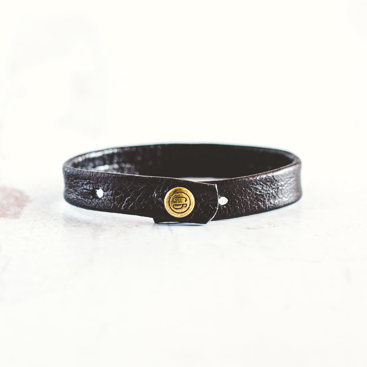 Do Good Bracelet - Antique Brass