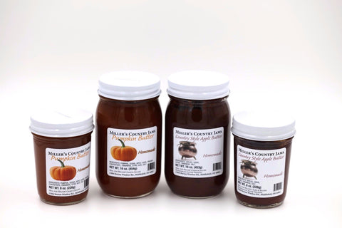 Apple Butter & Pumpkin Butter
