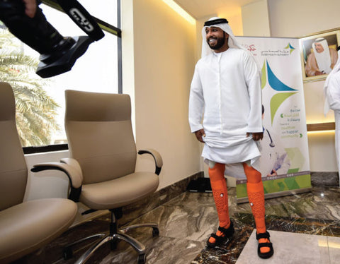 UAE Embraces 3D Printing in UAE for amputees.