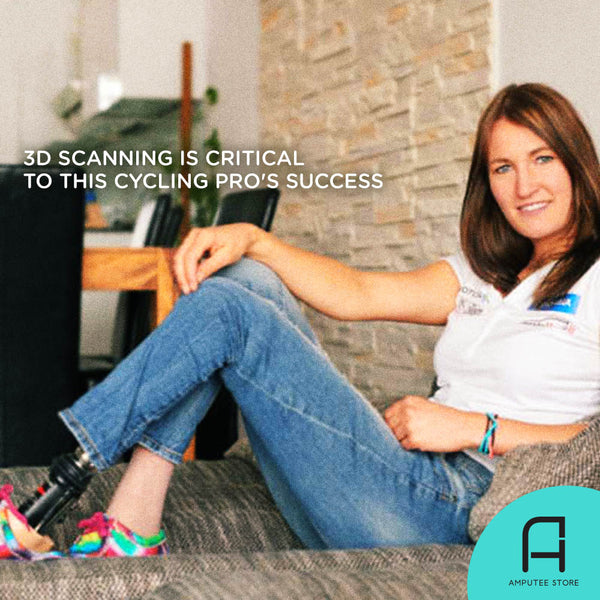 3D scanning is critical to cycling pro Denise Schindler's success.