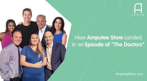"Amputeestore.com is on CBS's ""The Doctors"" helping a congenital amputee reach her goals."