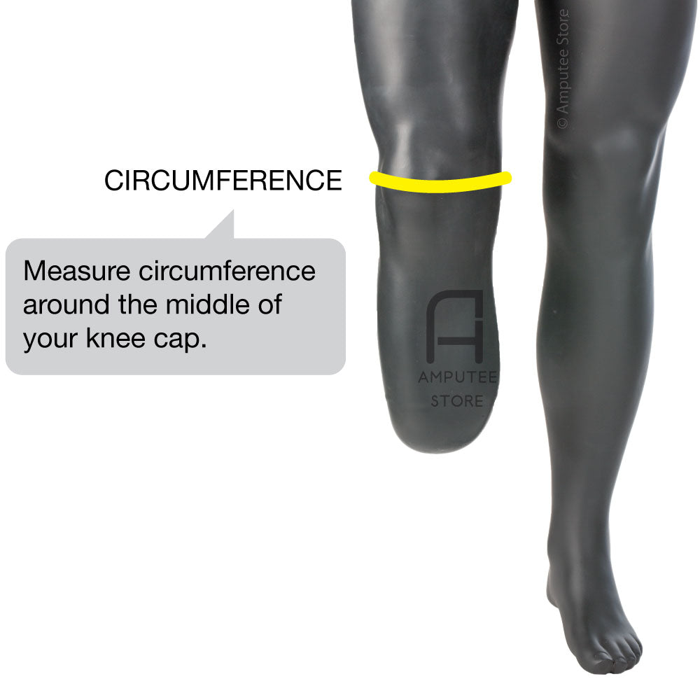 How to measure for Otto Bock Derma Protection Knee sleeve.