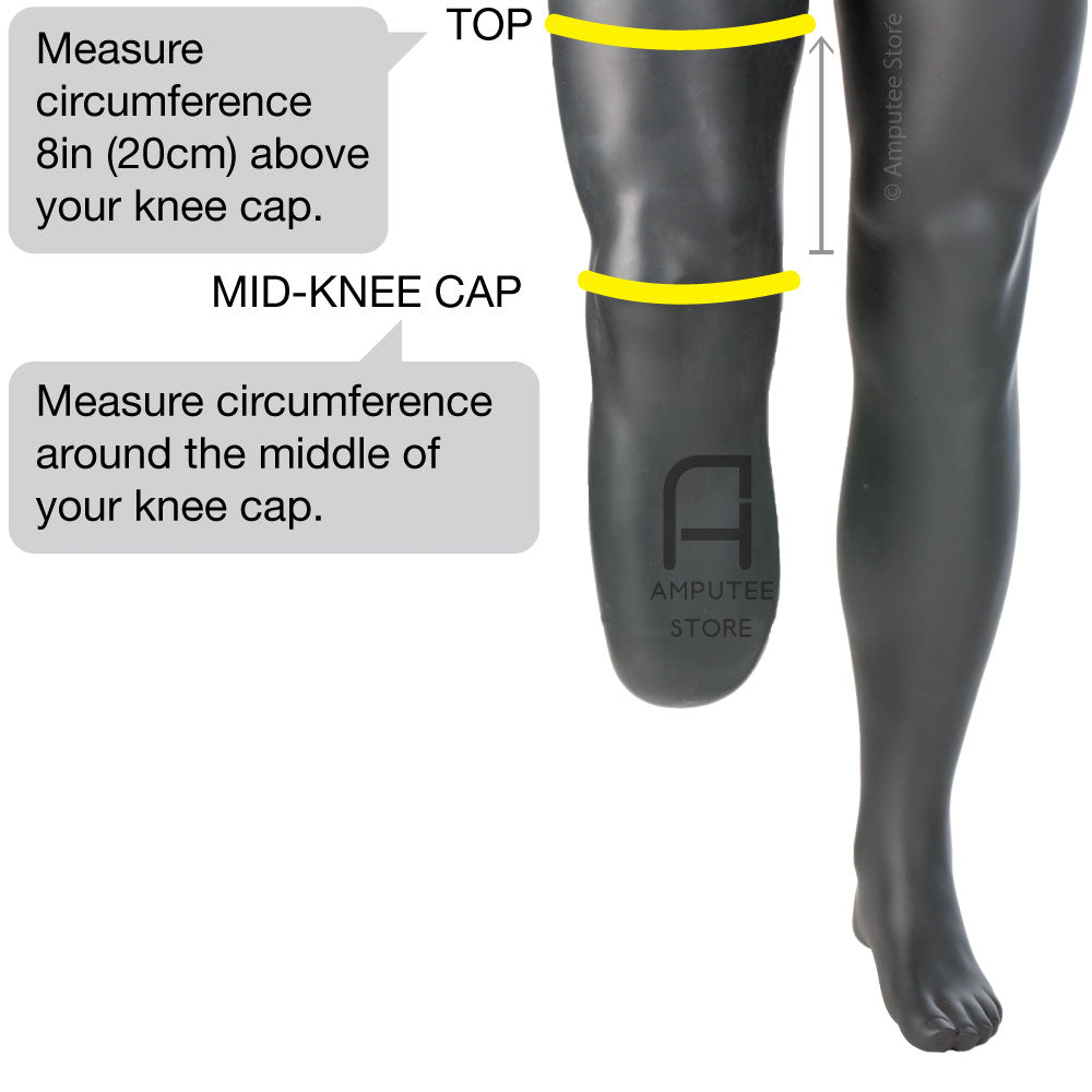 How to measure for an Ob ProFlex Knee Sleeve.