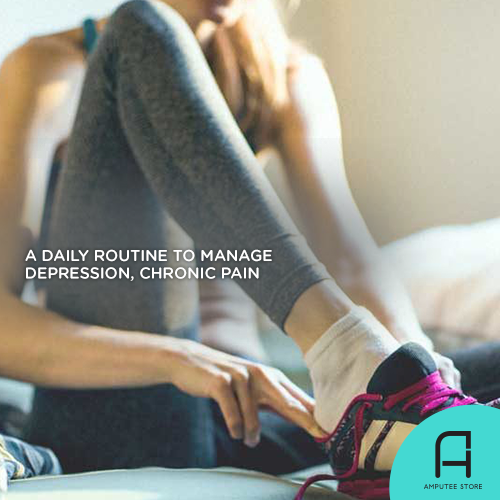 Setting a daily routine can help you manage anxiety, depression, and chronic pain.