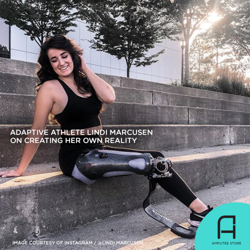 Adaptive athlete Lindi Marcusen believes you can create your own reality.