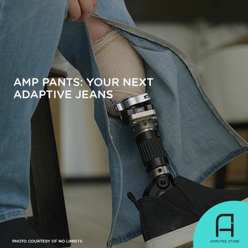 Amp Pants might be your next pair of adaptive jeans.