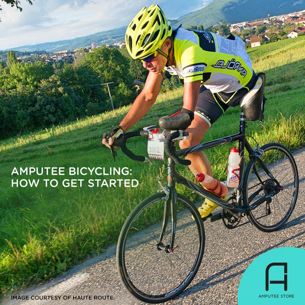 How to get started bicycling as an amputee.
