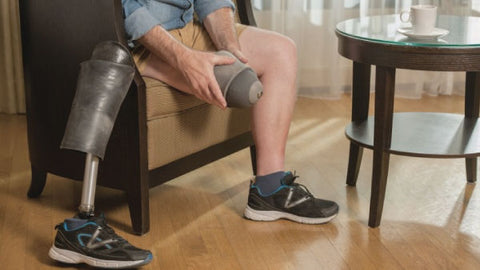 Prosthetic chafing and a few remedies to prevent discomfort.