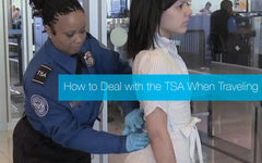 Prosthetic wearers may need to allow extra time to go through the TSA.