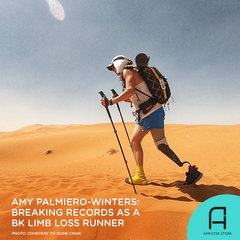 Amy Palmiero-Winters continues to break world records as an adaptive runner.