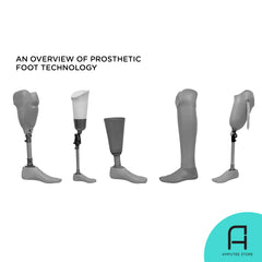 The various pivotal designs of the prosthetic foot throughout history.