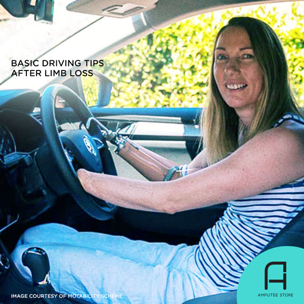 Tips on getting back to basic driving after limb loss.