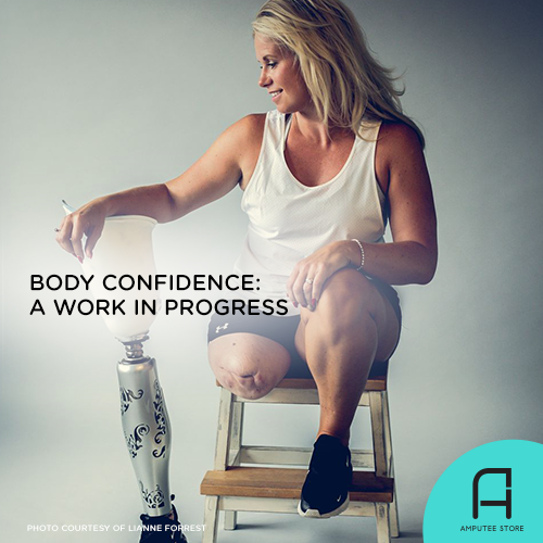 Achieving body confidence is always a work in progress.
