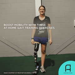 You can boost your mobility with these gait training exercises that you can do at home.