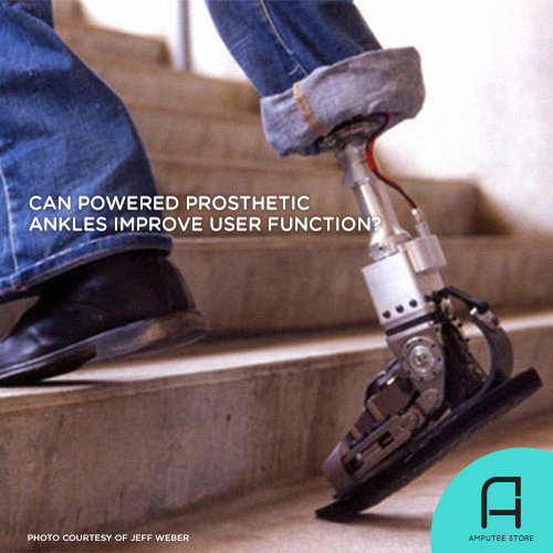 Researchers sought to determine whether powered prosthetic ankles improve the user's mobility.