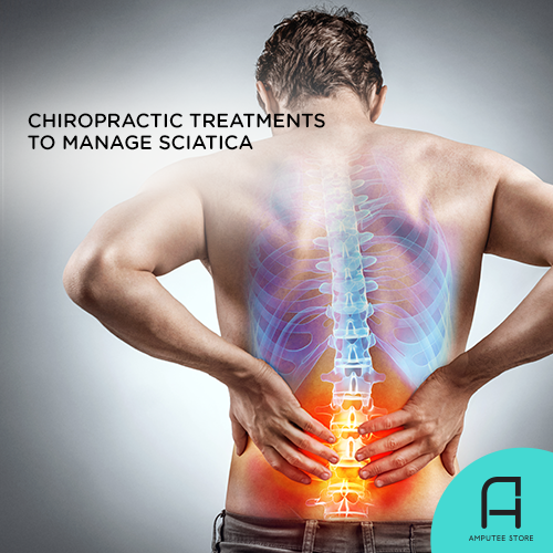 Chiropractic treatments can help manage sciatic pain in amputees.