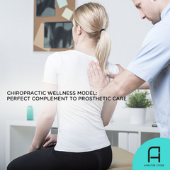 Chiropractic wellness model complements prosthetic care.