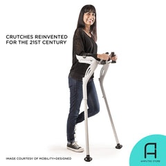 The crutches are reinvented for the 21st century.