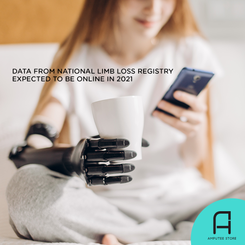 Initial data from the National Limb Loss Registry will be online in 2021.
