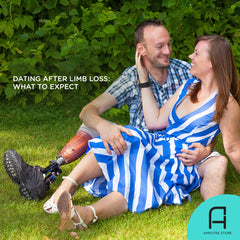 What to expect when dating after limb loss.