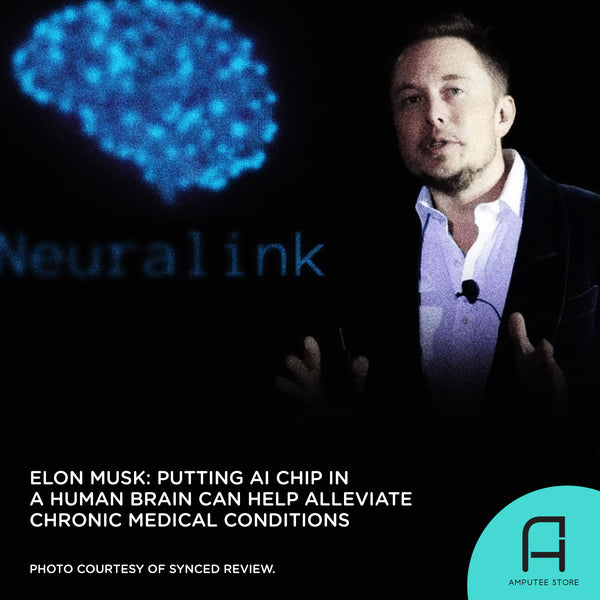 Elon Musk says placing an AI chip in the brain could help alleviate chronic medical conditions.