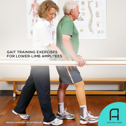 What you need to know about gait training exercises after amputation.