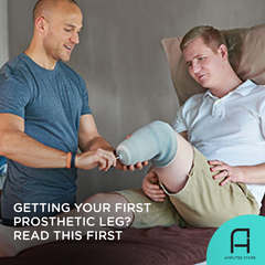 Everything you need to know before getting your first prosthetic leg.