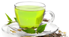 Green tea for antioxidant.