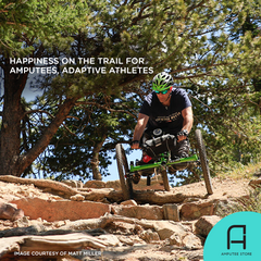 Ampt Biking helps amputees find happiness on the trail.