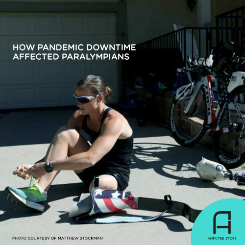 How Paralympians were affected by the forced pandemic downtime.