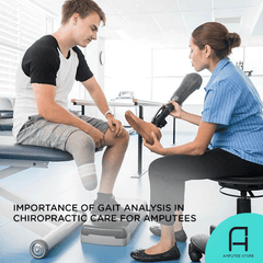 Gait analysis complements chiropractic care for prosthetic users.