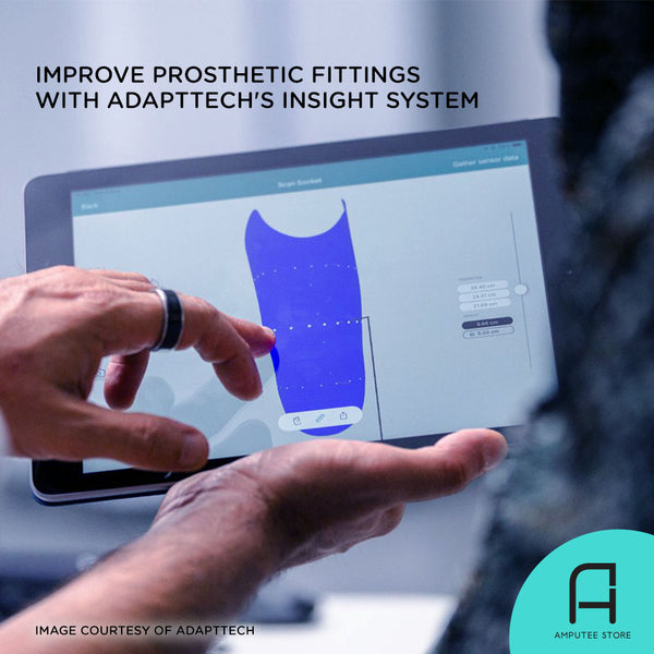 Adapttech's INSIGHT system improves prosthetic fittings.