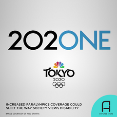 NBC's increased coverage of the Tokyo Paralympics could be the catalyst for change in how society views disability.