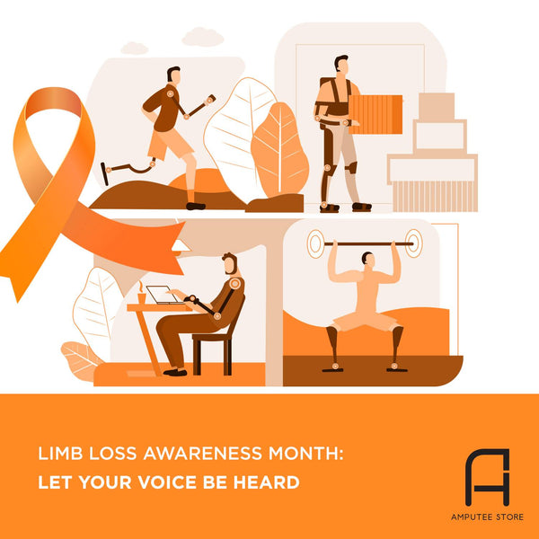 Celebrate limb loss awareness month April 2019. Advocate for those living with limb loss.