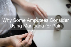 Marijuana is legal in california and many use it for stump pain.