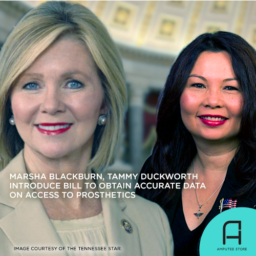 Senators Tammy Duckworth and Marsha Blackburn introduced the Access to Assistive Technology and Devices for Americans Study Act.