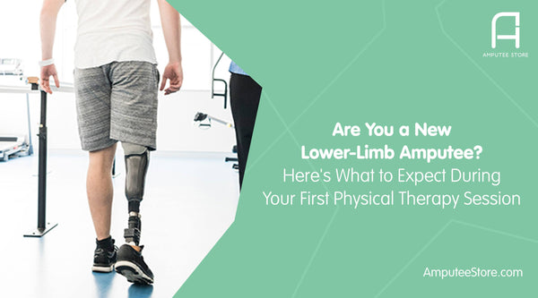 Here's what new lower-limb amputees can expect at their first few physical therapy sessions