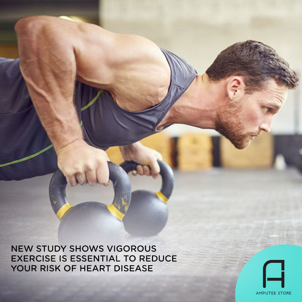 New evidence suggests that vigorous exercise may reduce one's risk of heart disease.