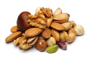 Nuts for digestion and immune system