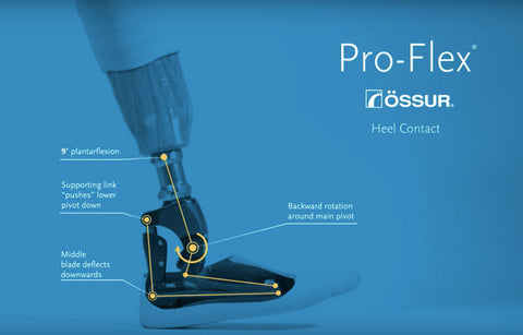 Ossur proflex with mechanical push off.