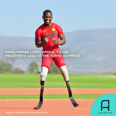 Paralympic runner Blake Leeper loses appeal to use prosthetic legs at the Tokyo Olympics.