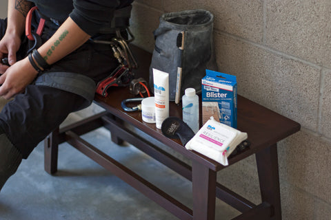 Prosthetic essentials for your gym bag.